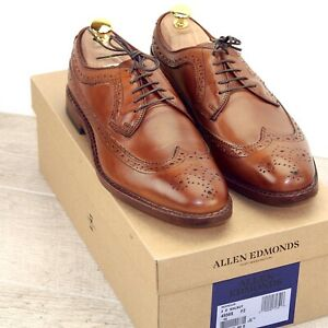 * NIB * $425 Allen Edmonds MCGREGOR  8 D Walnut * new Shoe Trees AE Bags