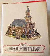 Liberty Falls Collection ~ Church Of The Epiphany ~ Mint In Box Ah134