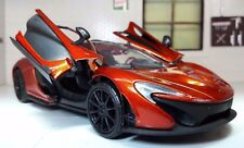 1:24 Scale McLaren P1 Volcano Orange Detailed Motormax Diecast Model Car
