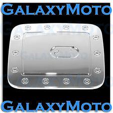 Triple Chrome Fuel Gas Door Cover Fit 13-16 2013-2016 Nissan Pathfinder SUV Trim