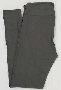Tall & Curvy LuLaRoe TC Solid Gray Leggings New 11