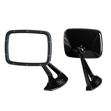 Billet C10 Sport Truck Mirrors by Billet Rides Gloss Black (Pair)