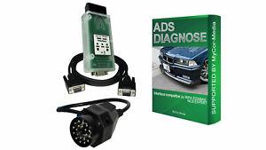 Diagnose Interface für BMW ADS OBD1 OBD2 EDIABAS INPA Rheingold Diagnosegerät