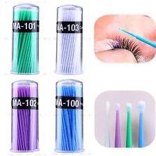 100pcs Disposable Eyelash Extension Micro Brush Swab Applicators Mascara Brush