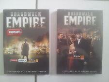 coffrets série BOARDWALK EMPIRE ( Martin Scorsese ) saisons 1 et 2 état NEUF