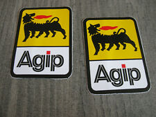 Aufkleber Sticker Agip ÖL OIL Racing Tuning Biker Autosport Motorsport GT Race