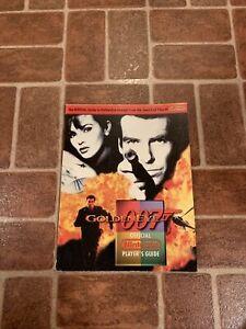 Official Nintendo Power GoldenEye 007 Player's Guide James Bond FREE SHIPPING