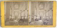 Cattedrale Da Reims Interno Foto Stereo Vintage Albumina