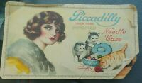 Vintage Piccadilly Trademark Imported Needle Case