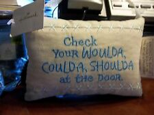 Hallmark Collectible Pillow w/ Ribbon Hanger New W/ Tag! Take A Look