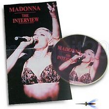 MADONNA RARE PICTURE DISC INTERVIEW including POSTER