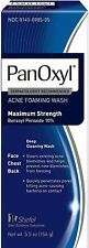 PanOxyl Foaming Acne Wash Maximum Strength 5.5 oz