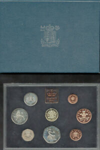 UK Proof Coin Collection 1983 - Royal Mint 8 Coin Set