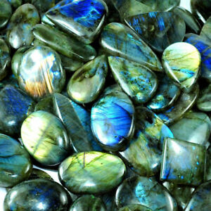 Labradorite Jewelry 50/% Off Natural AAA Labradorite Cabochon Labradorite Gemstone Gemstones 68.05 Crt 39x35x7 MM P613 Labradorite