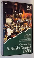 CHRISTMAS FROM ST. PATRICK'S CATHEDRAL, DUBLIN Ireland VHS Irish Holday Concert