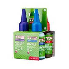 TF2 Cycle chain oil kit Dry, Wet, Al weather and Wax bike oil 4 x 50ml