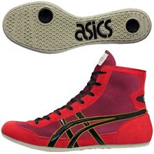 Asics Japan Wrestling Boxing Shoes Ex-Eo Red Black Twr900 Flat Sole 490