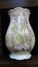 RARE 1989 Royal Doulton Vase The Picnic,Brambly Hedge by Jill Barklem Excellent!