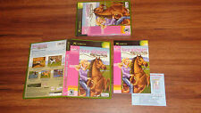 Horse Adventures Wild Horse Rescue CASE & MANUAL ONLY! NO GAME! XBOX