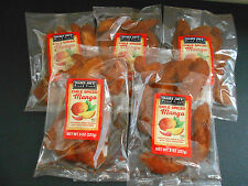 Trader Joe's  Chile Spiced Mango Mangos Lot of 5 8oz Bags