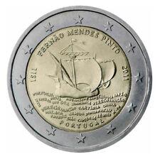 Pièce  Coins  2 euros PORTUGAL - 2011 Commémo -  FERNAO MENDES PINTO