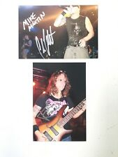 All That Remains * Phil Labonte * Sagan * Martin * Autographed 4�x 6� Photos