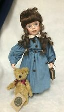 "Boyds Yesterday's Child Doll Collection ""Ms. Ashley W/ Bear"