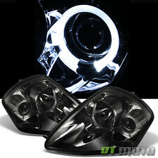 Smoked 2000-2005 Mitsubishi Eclipse Halo Projector Headlights Lamps Left+Right