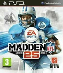 Madden NFL 25 PS3 Playstation 3 EXCELLENT Condition FAST Dispatch