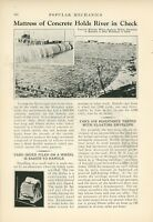 1933 Fighting Erosion of Mississippi River Memphis Tennessee TN Water Front