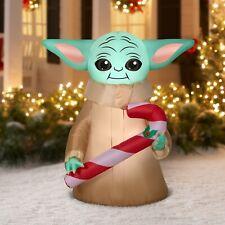 Star Wars Mandalorian The Child Baby Yoda Airblown Christmas Inflatable Gemmy