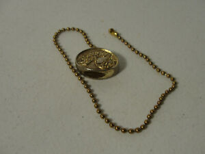 """Vintage Hampton Bay Ceiling Fan Pull Down Chain with 11"""" Chain"""