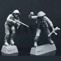 1/35 Resin Figure Model Kit Vietnam War NVA Soldiers Counter U.S SOG Team
