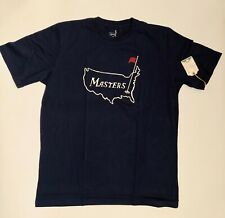 Masters Map Navy Medium T-Shirt 1934 Collection Augusta National New