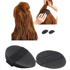 4Pcs/2Pair Sponge Bump It Up Volume Hair Base Styling Insert Tool Accessories