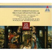 NIKOLAUS HARNONCOURT/CMW - WEIHNACHTS-ORATORIUM 2 CD 65 TRACKS J.S. BACH NEU