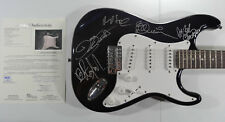 SIGNED SAXON AUTOGRAPHED GUITAR FULL BAND CERTIFIED AUTHENTIC JSA LOA # Z48976