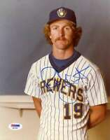 Robin Yount Psa/dna Coa Autograph Hand Signed 8x10 Photo