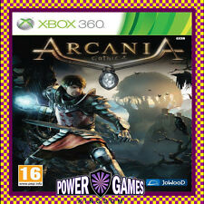 Arcania Gothic 4 Xbox 360 PAL Game Complete