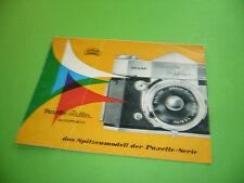 208R01 50er 60er Jahre Prospekt BRAUN Paxette Reflex automatic. Vintage leaflet
