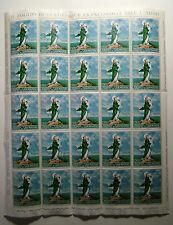 1966 San Marino Europa L.200 Full Sheet