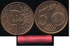 FRANCE    5 cent  1999  SPL  neuve  ( sortie du rouleau )   ( bis )