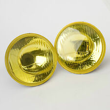 Autopal 5.75' Round Headlamp Conversions with VANS Yellow Spray Coating H5006