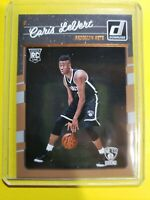 2016-17 Donruss Caris Levert RC #167 Brooklyn Nets TRUE ROOKIE Pacers 🔥 🌟