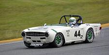 1971 Triumph TR6 Vintage Classic Race Car Photo (CA-0859)