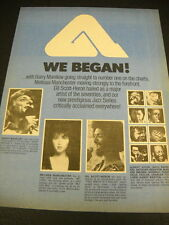 BARRY MANILOW Gil Scott-Heron MELISSA MANCHESTER more Vintage PROM DISPLAY AD
