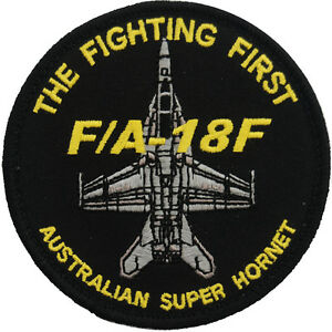 F/A-18F Australian Super Hornet - The Fighting First - Patch - New