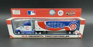Chicago Cubs 1:80 Fleer MLB Kenworth Tractor Trailer New Limited Edition