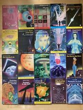 20x Goldmann Science Fiction Konvolut Sammlung Zukunftsroman SF Bücherpaket