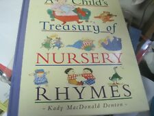 A Child's Treasury of Nursery Rhymes (1998, Hardcover)